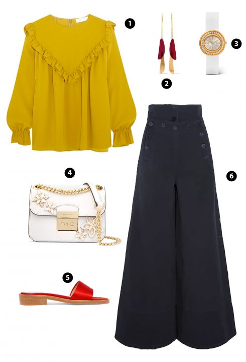 1. Co/ 3. Piaget/ 4. Michael Kors/ 5. Mr by Man Repeller/6. Chloe