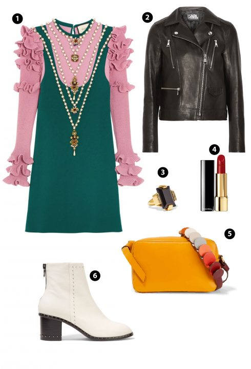 1. Gucci/ 4. Chanel/ 5. Anya Hindmarch/6. Rag & Bone