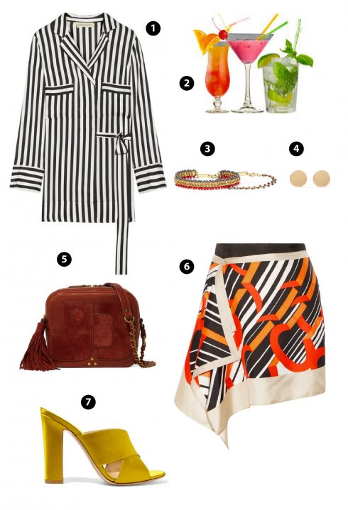 1. By Malene Birger/ 3,4. Chan Luu/ 6.Carven