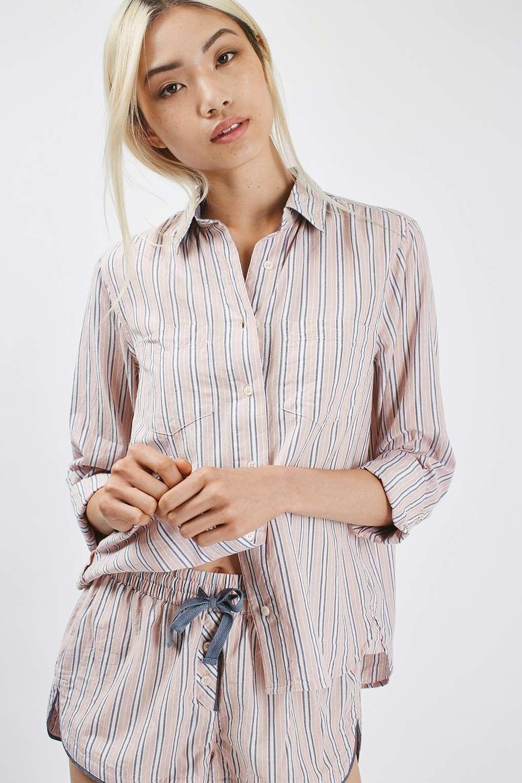 đồ bộ pyjama với quần ngắn của topshop