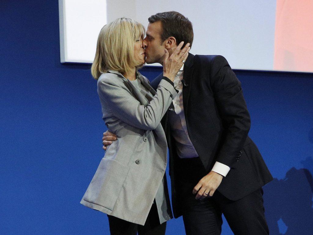 Phu nhân Tổng thống Pháp Macron, Brigitte Trogneux - 01