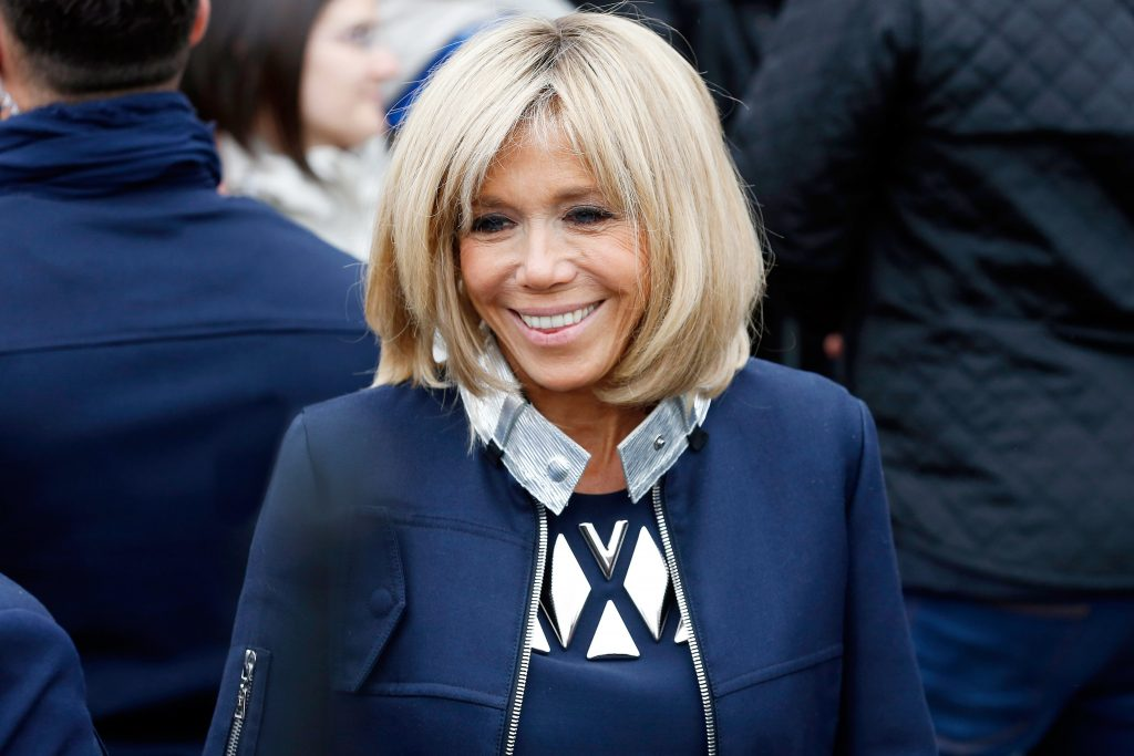 Phu nhân Tổng thống Pháp Macron, Brigitte Trogneux - 02