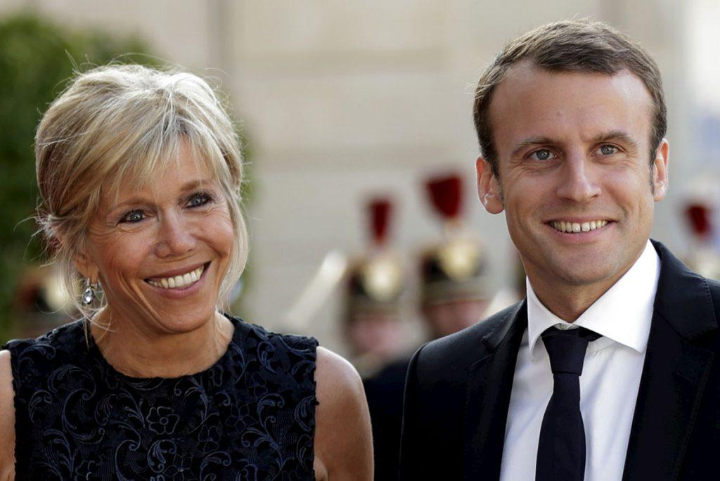 Phu nhân Tổng thống Pháp Macron, Brigitte Trogneux - 04