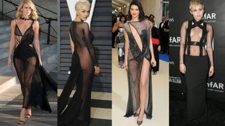 Naked dress, những chiếc váy gây tranh cãi trong lịch sử thảm đỏ