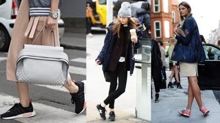 Cách phối đồ với giày thể thao đình đám của các thương hiệu nổi tiếng