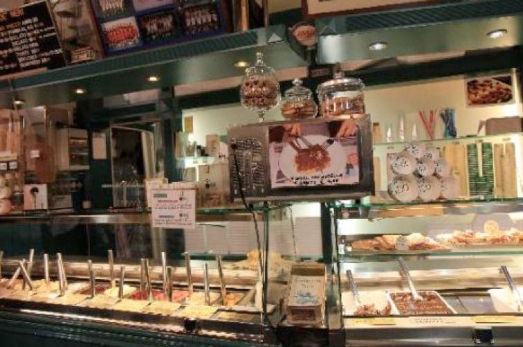 Địa điểm bán kem Ý yêu thích của người Ý