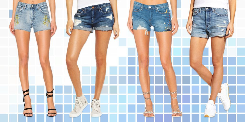 quan shorts denim