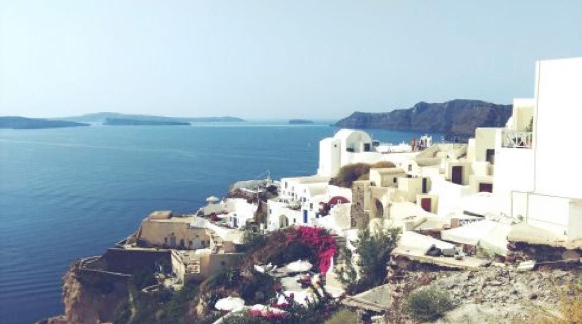 Du lịch Hy Lạp: Đừng ngủ ở Santorini