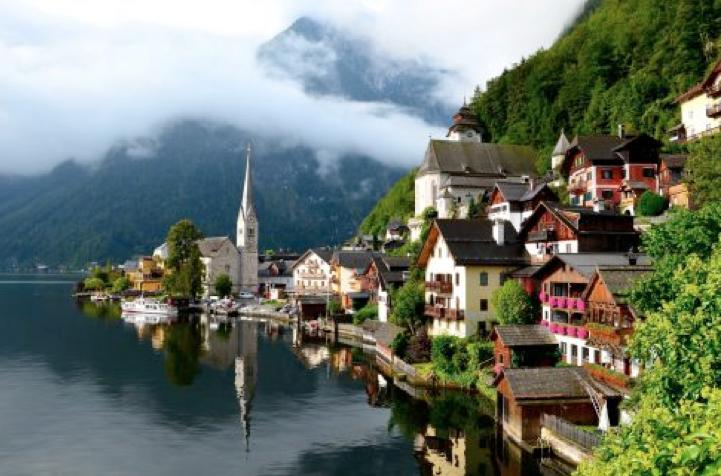 Chiêm ngưỡng vẻ đẹp Làng Hallstatt