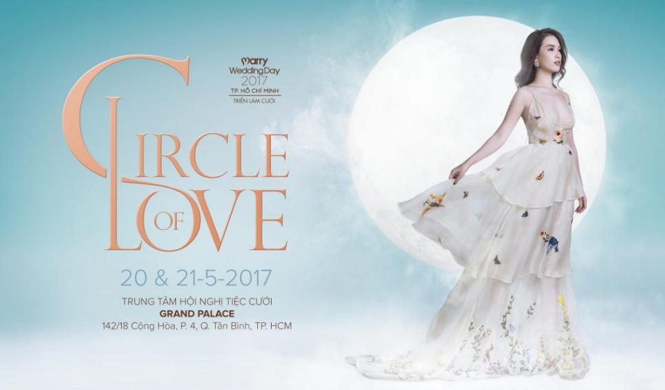 Với chủ đề The Circle of Love – Marry Wedding Day 2017 hứa hẹn sẽ mang đến các cặp đôi những trải nghiệm thú vị cùng các phần quà vô cùng giá trị, hấp dẫn.