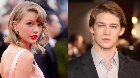 Phải chăng Taylor Swift đã tìm được bờ vai mới?