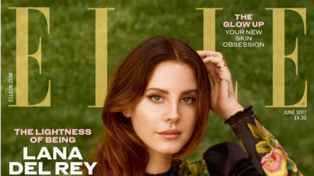 Lana Del Rey quyến rũ trên bìa tạp chí ELLE Anh tháng 6