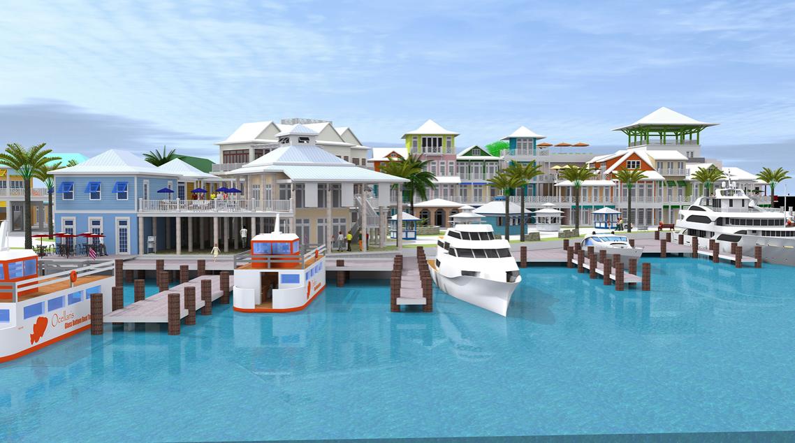 Thành phố Nassau rất sạch sẽ và ngăn nắp