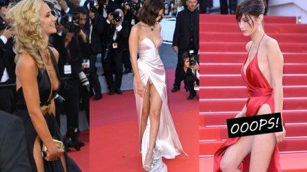 8 sự cố trang phục đáng tiếc trên thảm đỏ Liên hoan phim Cannes