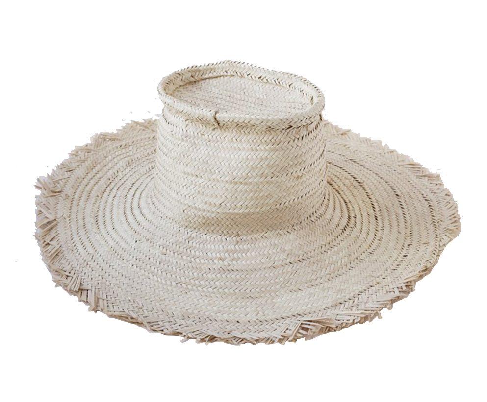 Indego Africa Woven Fringe Hat