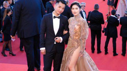 Ngọc Thanh Tâm gợi cảm với đầm haute couture tại Cannes 2017