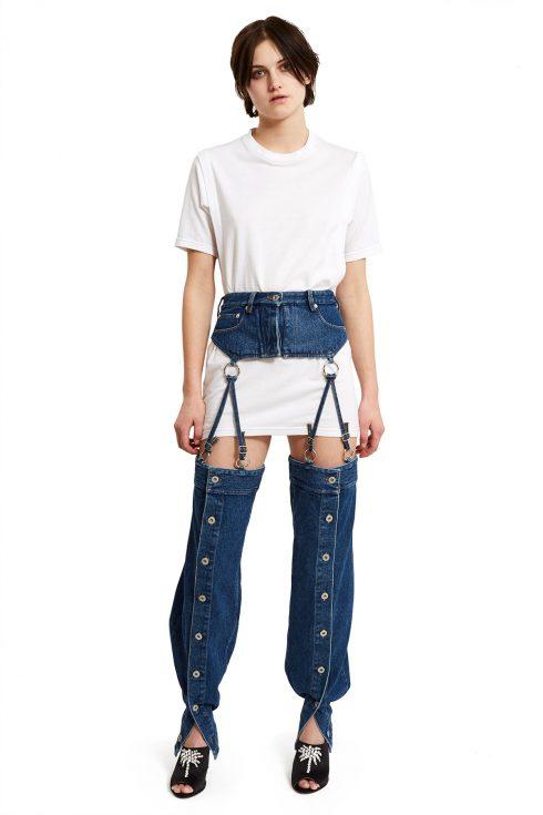 Xu hướng quần jeans 2 trong 1