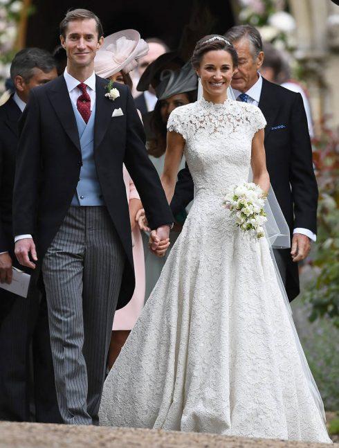Toàn cảnh hôn lễ của em gái Công nương Middleton - 07