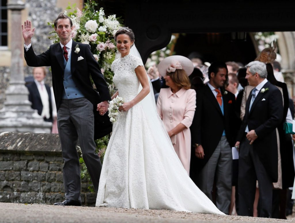Toàn cảnh hôn lễ của em gái Công nương Middleton - 10
