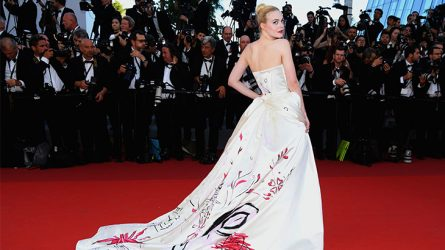 Elle Fanning - Vẻ đẹp trong suốt giữa Cannes 2017