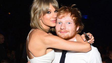 Bức tường tình bạn bền vững của Taylor Swift và Ed Sheeran