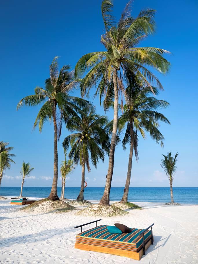 Ốc đảo thanh bình dưới nắng vàng ấm áp
