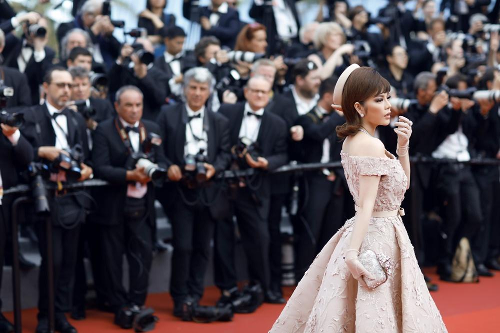 Lý Nhã Kỳ ngày cuối ở Cannes 2017