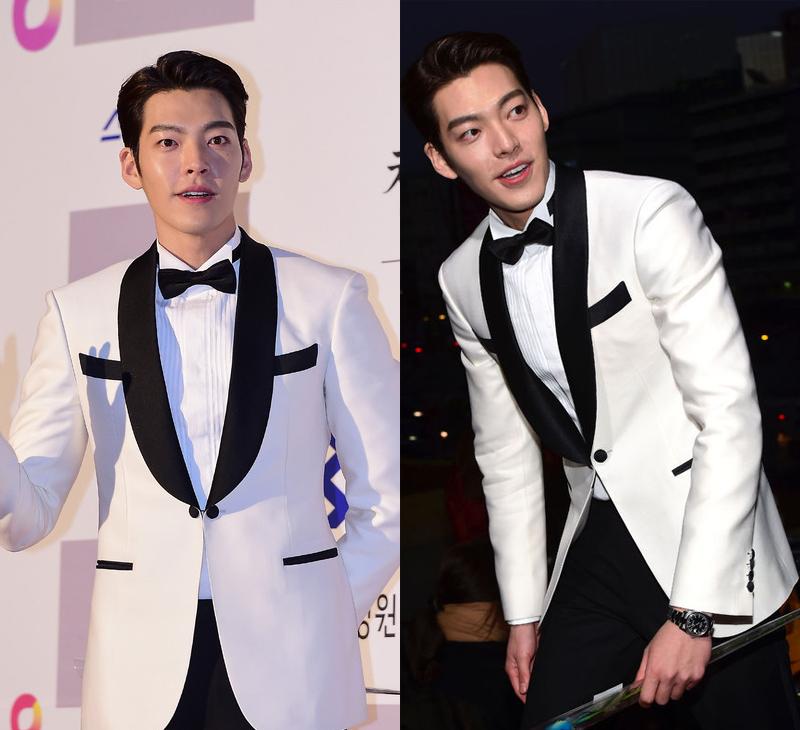 Kim Woo Bin mạnh mẽ lịch lãm khi diện vest trắng