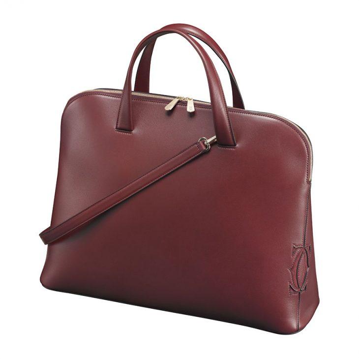 Túi da nữ từ thương hiệu Cartier