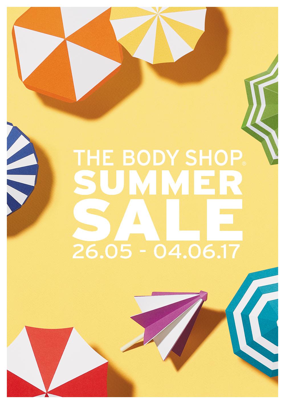 body shop summer sale