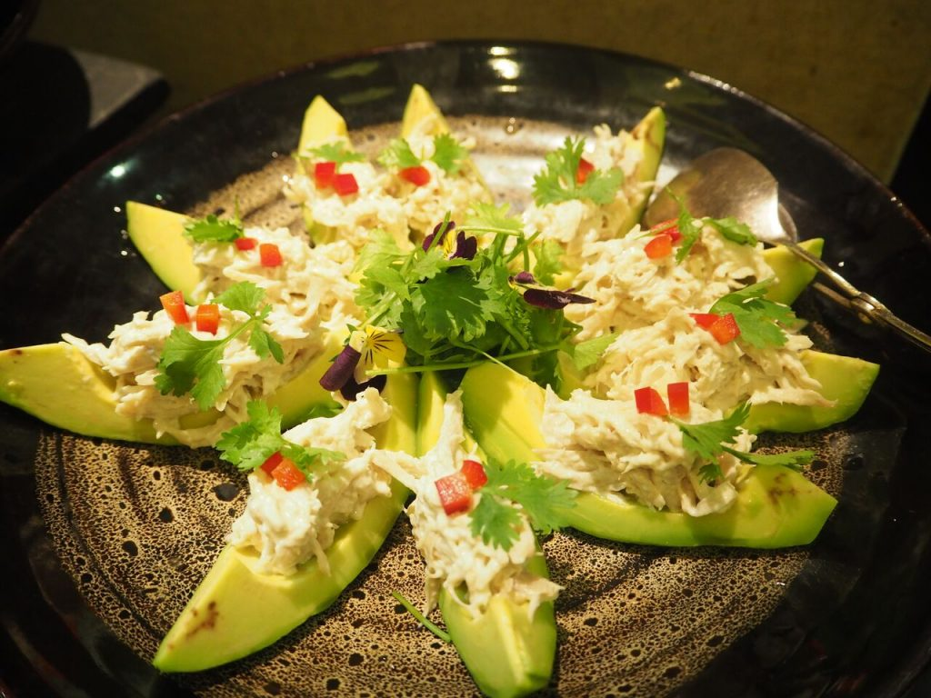 Món Sa lát trái bơ của Mexico.