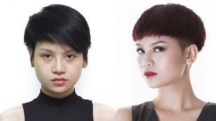 So nhan sắc hậu phẫu thuật thẩm mỹ của các thí sinh Vietnam's Next Top Model 2017