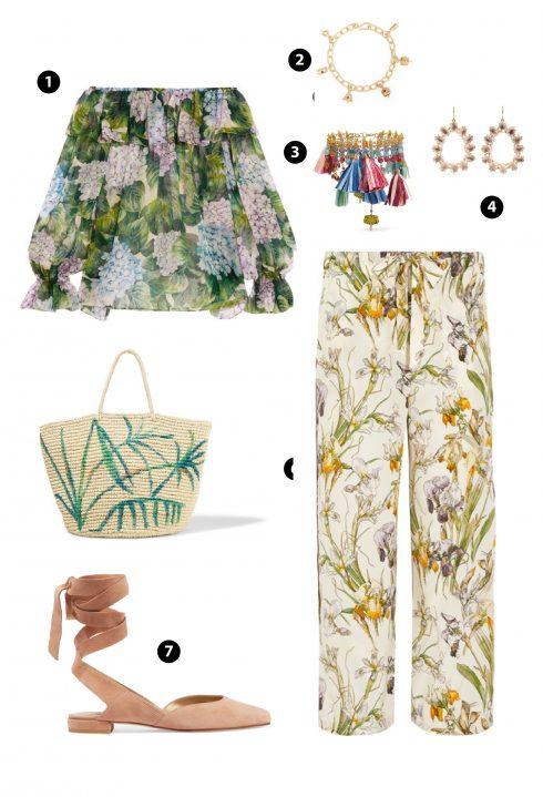 1. Dolce & Gabbana/ 2,3. Chan Luu/ 4. Alexander McQueen/ 5. Sensi Studip/ 7. Stuart Weitzman
