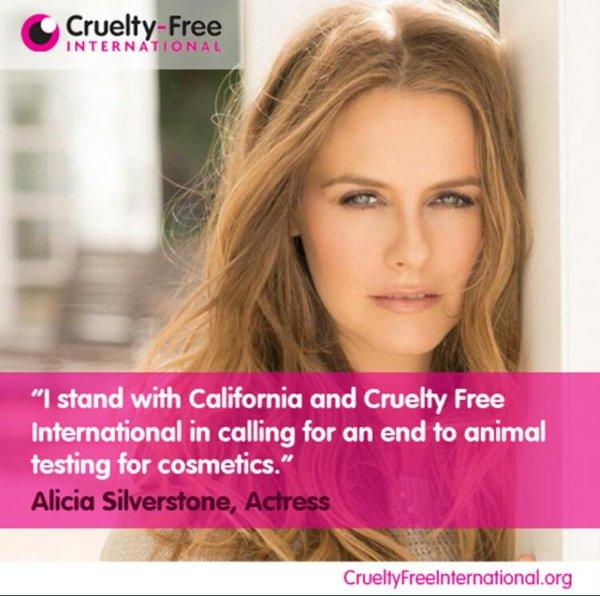 """12 sao Hollywood """"lăng-xê"""" mỹ phẩm trang điểm Cruelty-Free"""