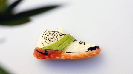 Khi món sushi