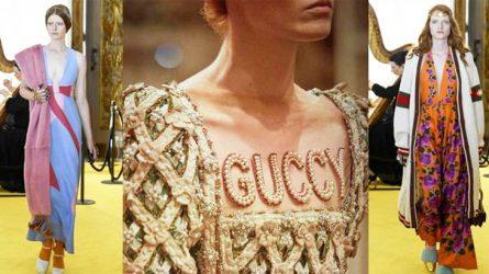 Gucci Resort 2018 ngập tràn cảm hứng Phục hưng