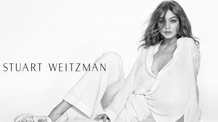 Gigi Hadid cuốn hút trong bộ ảnh mới của Stuart Weitzman