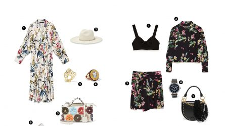 ELLE Style Calendar: set đồ thời trang họa tiết trendy ngày hè (5/6-11/6)
