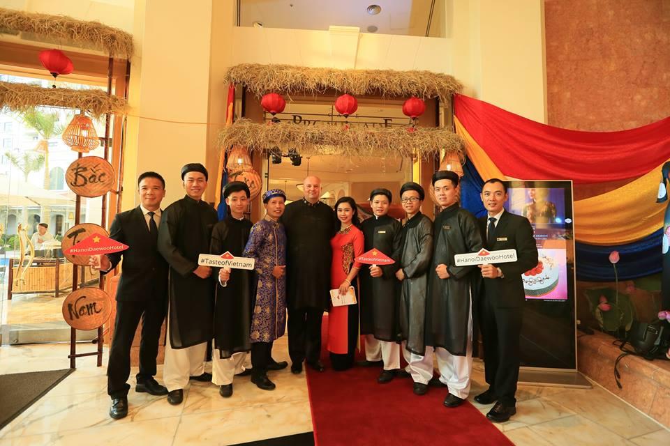 Ý tưởng tôn vinh món ăn Việt đến từ Khách sạn 5 sao Daewoo Hà Nội.