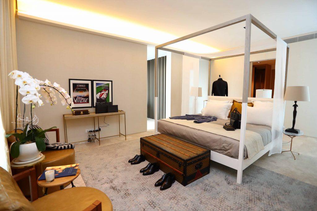 Phòng ngủ của phái mạnh Louis Vuitton