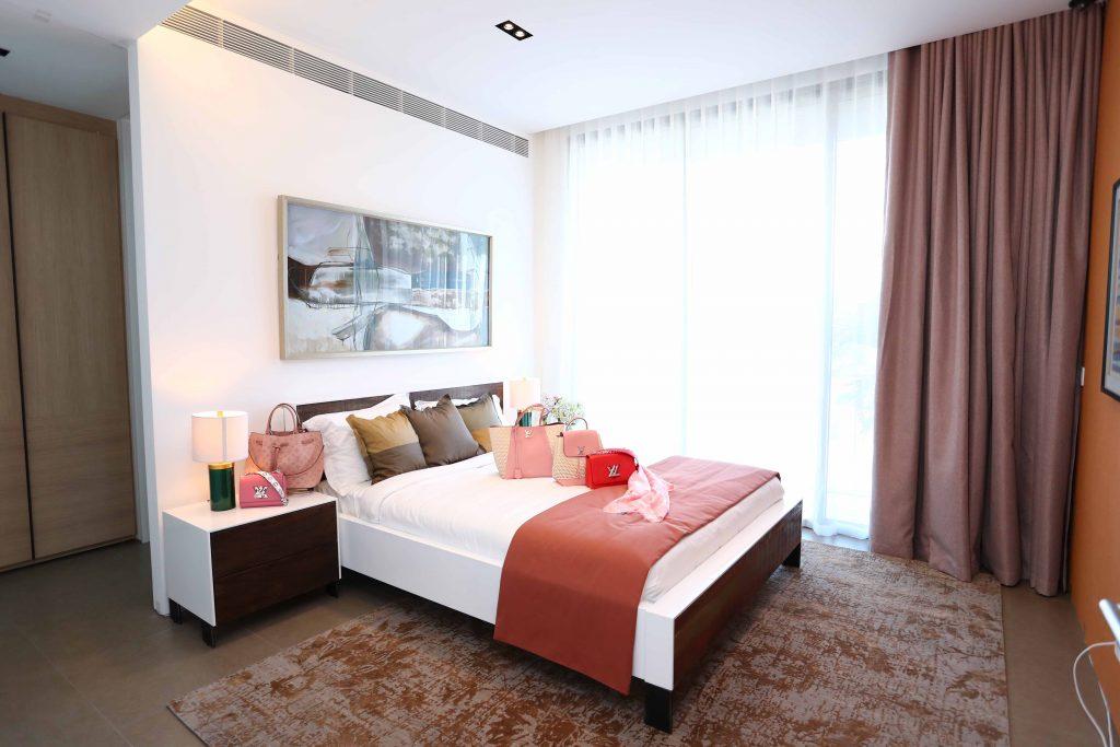 Phòng ngủ của quý cô LV