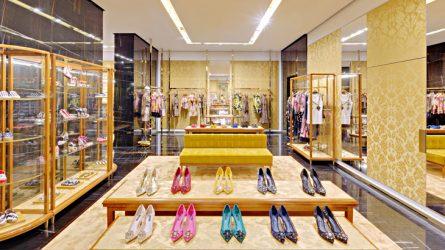Không gian mua sắm đẳng cấp Ý của Dolce & Gabbana tại Sài Gòn