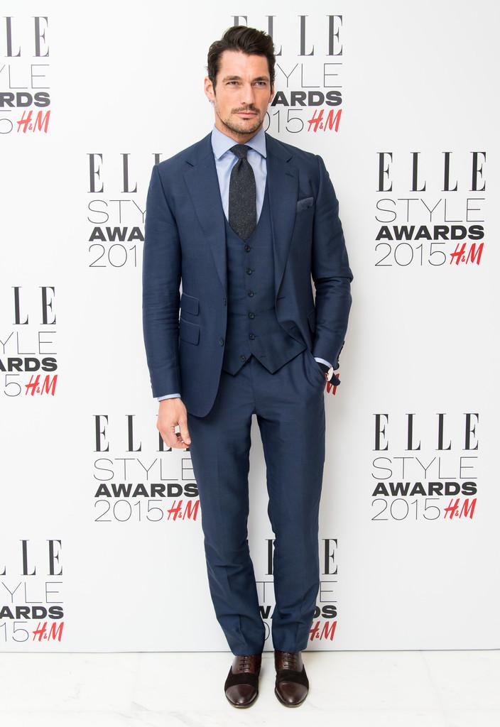 Nam người mẫu David Gandy trên thảm đỏ ESA