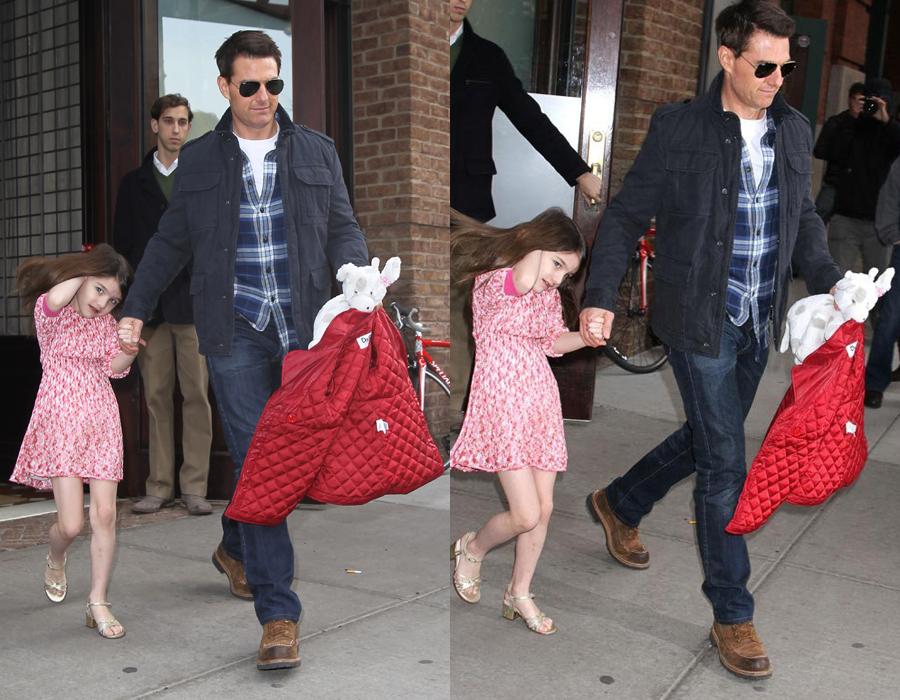 Như bao ông bố, Tom Cruise cũng từng rất yêu thương và dành nhiều thời gian cho con gái của mình khi vẫn còn chung sống cùng vợ và con.