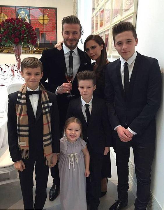 David Beckham - mẫu người đàn ông lí tưởng được nhiều người ngưỡng mộ.