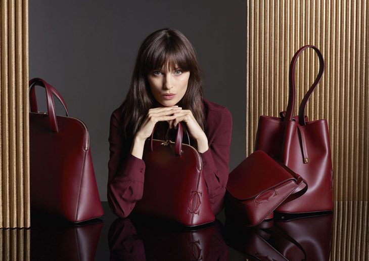 Những chiếc túi được thiết kế tỉ mỉtừ bộ sưu tập Must C từ Cartier