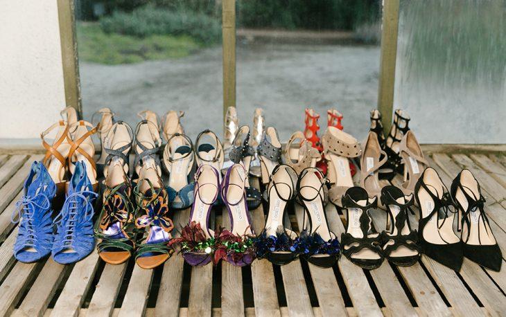 Những đôi giày từ thương hiệu Jimmy Choo