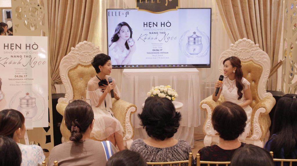 Nicky Khánh Ngọc chia sẻ