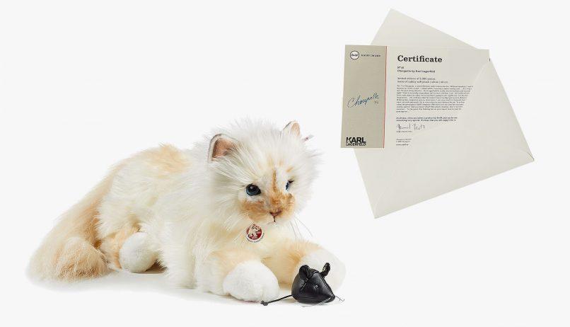 NTK Karl Lagerfeld đang rao bán mèo cưng với giá €459