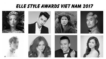 Công bố các hạng mục giải thưởng của ELLE Style Awards 2017